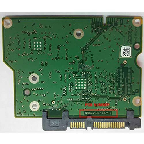 FidgetKute 100664987 REV B HDD PCB Circuit Board Hard Drive Logic Controller Board - Hard Drive Board
