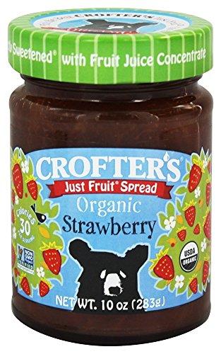 Crofters Strawberry - Crofters Organic Just Fruit Spread Strawberry -- 10 oz