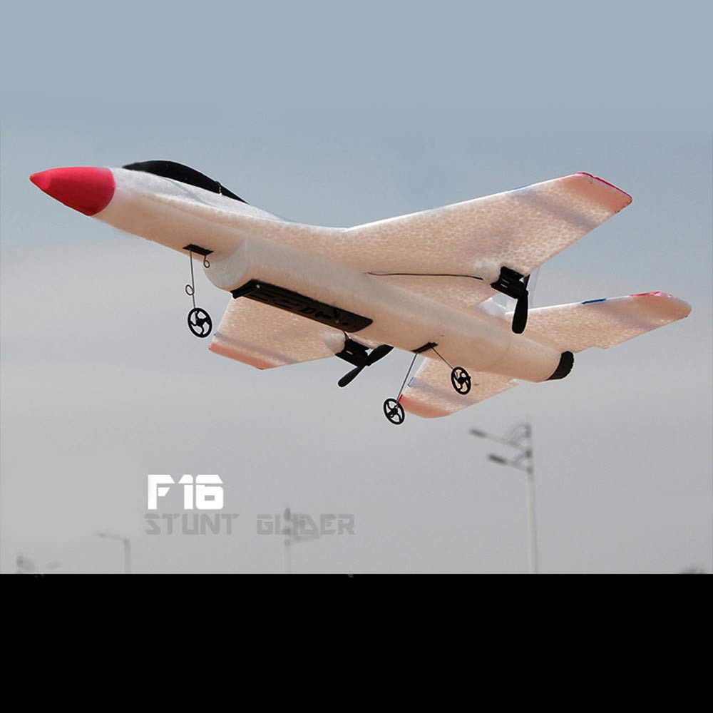 Yu2d_ Drone Accessories Yu2d 🛩🛩FX-823 2.4G 2CH RC Airplane Glider Remote Control Plane Outdoor Aircraft by Yu2d_ Drone Accessories (Image #2)