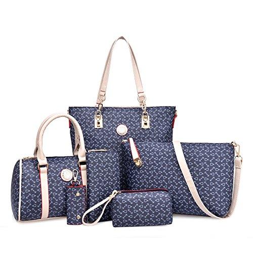 hx-six-piece-bone-pattern-bag-for-women-handbag-shoulder-bag-messenger-bag-crossbody-bag-wallet-keyb