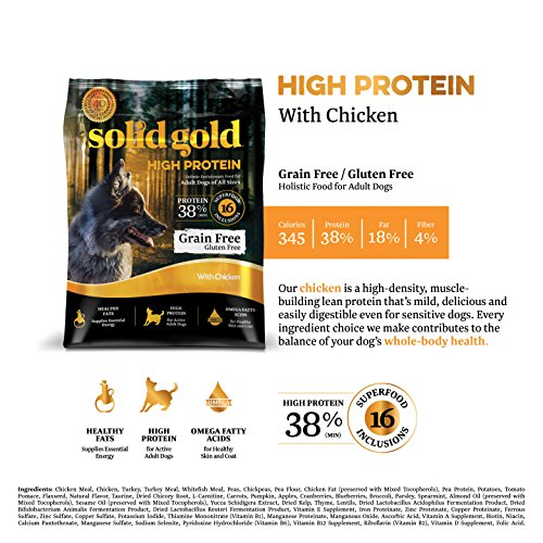 Solid Gold High Protein Chicken Cat Food