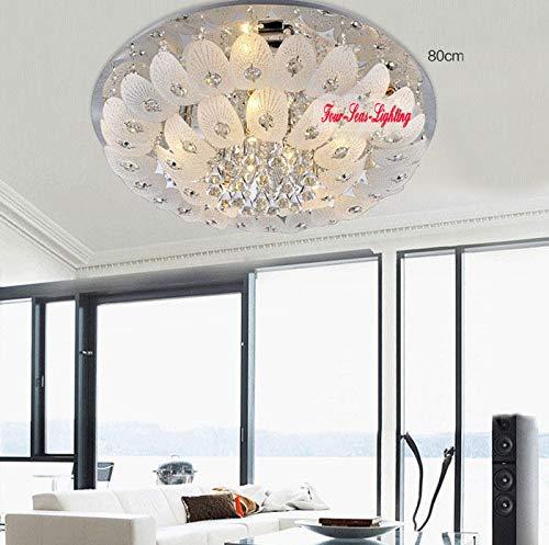FidgetGear Modern K9 Crystal Chandelier Pendant Ceiling Lighting Living Room Pendant Lamp D50CM/19.7'' by FidgetGear (Image #4)