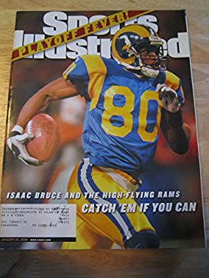 Sports Illustrated Jan 24, 2000 Isaac Bruce Rams Ex
