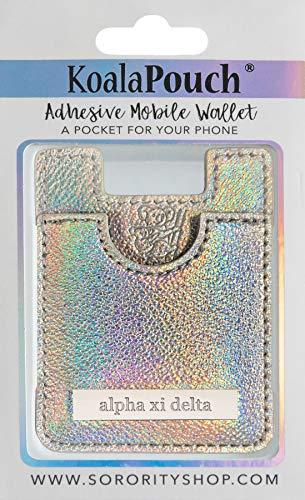 Alpha Xi Delta - Glitter Koala Pouch (Holographic)