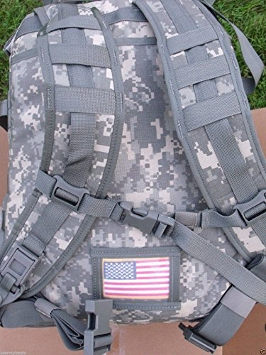 US Army Military Issue Tactical Digital Camo Camouflage ACU ASSAULT 3 Days MOLLE BACK PACK Ruck Sack Backpack Carrier for Hunting Shooting Hiking Camping Outdoor by US Government Issue GI USGI by Michael-Bianco / Specialty Group Inc / Propper International (Image #2)