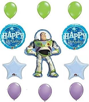 Amazon.com: Toy Story Buzz Lightyear Feliz cumpleaños ...