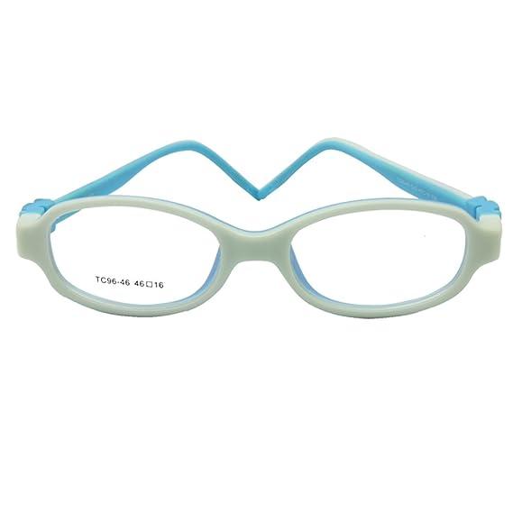 7854c14c31 Anteojos ópticos para niños EnzoDate sin tornillo, marco de gafas para niños,  gafas para