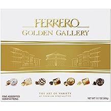 Ferrero Golden Gallery 42 Piece Fine Assorted Confections, 13.7 oz. Box