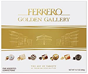 Golden Gallery 42 Piece Ferrero, 14.1 Ounce
