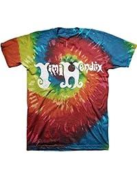 Jimi Hendrix Logo Tie-Dye T-Shirt
