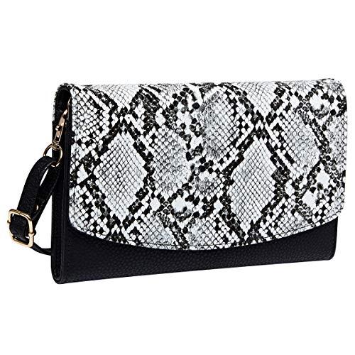 (Heaye Women's Clutches Purse Evening Bags Handbags Snake Print Wallet)