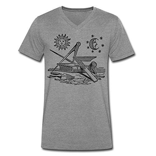 worldwide-fraternal-freemason-black-clipart-mens-v-collar-short-t-shirt-deepheather-medium