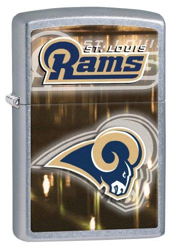 Zippo NFL St Louis Rams Street Chrome Windproof Lighter (Set of 6) by Zippo