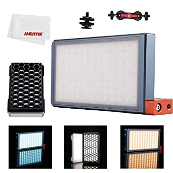 Image of Falcon Eyes 12W RGB LED Mini Pocket On Camera Light with 16 Special-Effects Modes Portable,with Honeycomb Grid for Video/Photo/Product Photography F7 Continuous Output Lighting