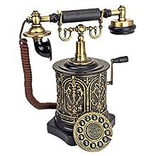 Design Toscano Antique Phone - The Swedish Royal Family 1893 Rotary Telephone - Corded Retro Phone - Vintage Decorative Telephones
