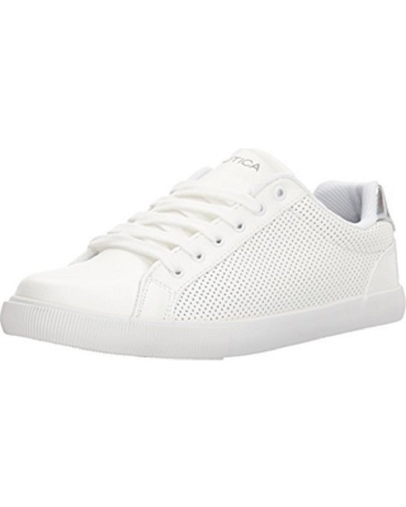 Nautica Women's Steam Sneaker B01MCZ7XCN 7.5 B(M) US|White Tumbled