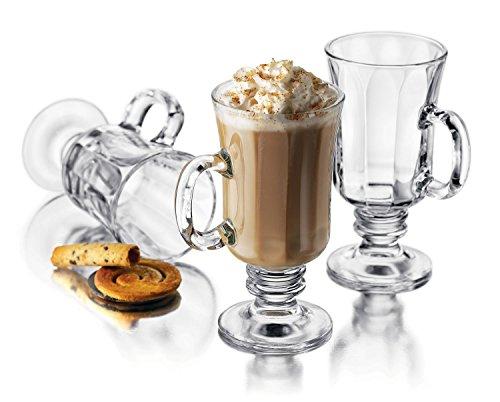 Libbey Milan 8 oz Irish Coffee Mug, 24-piece Set