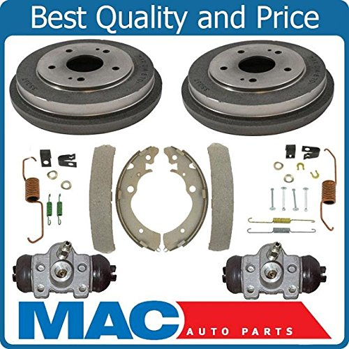 - 100% New Rear Brake Drums Shoes Spring Kit Wheel Cylinder Fits For Honda CRV 97-01 6p
