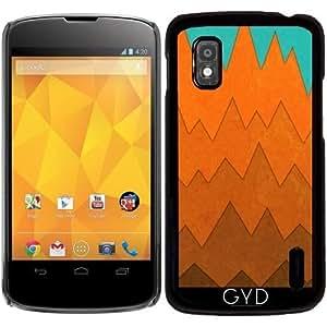 Funda para Google Nexus 4 - Montañas by eDrawings38