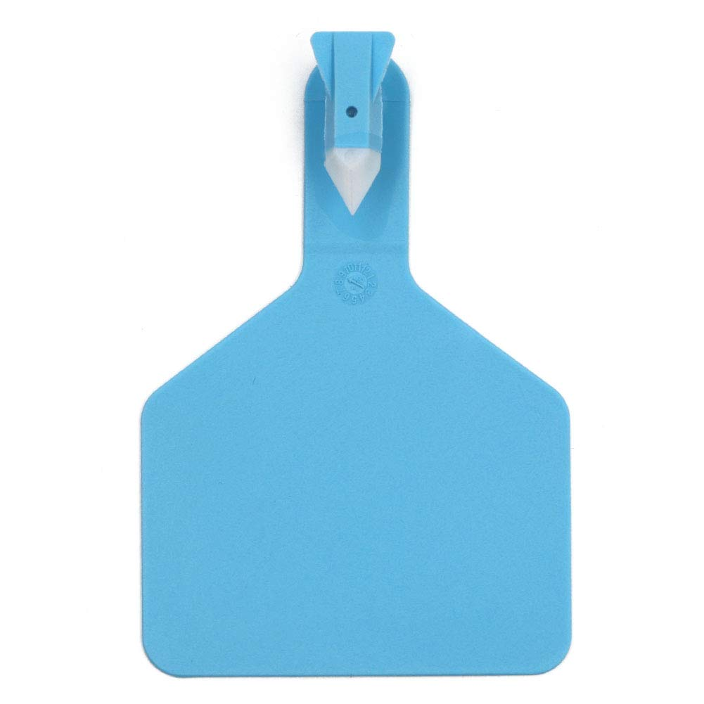 M.Z.A One Piece Ear Tags Blank Ear Tags for Cattle Livestock Ear Tags for Cows Hogs Sheep, 50PCS by MACGOAL