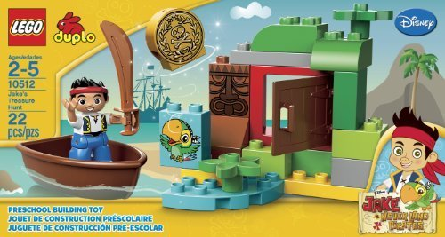 LEGO 10512 Jakes Treasure Hunt Toy, Kids, Play, Children