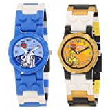 LEGO Kids' 9000461 Star Wars R2D2 and C3PO 2-Pack Watch
