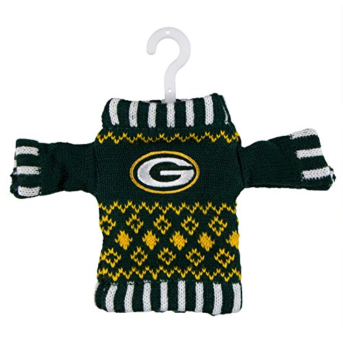 NFL Knit Sweater Ornament - Baltimore Ravens  NFL Team: Green Bay ()