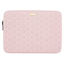 "kate spade new york Perforated Sleeve for 13"" Apple MacBook/13"" Laptop - Rose Quartz (KSMB-016-RQ)"