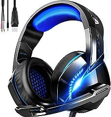 ゲーミング ヘッドセット 軽量 ヘッドホン 高音質 ヘッドフォン マイク付き PS4ヘッドセット PC パソコン スカイプ fps 対応 男女兼用