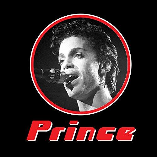 Prince Monochrome Retro Photo Frame Women's Vest Black