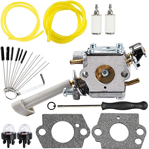RY08420A Carburetor Compatible with Ryobi Bp42 Carburetor 308054079 RY08420 Backpack Blower with 530069247 Repower Parts Kit for Engine Lawn Mower Snowblower - Lawn Mower Snowblower