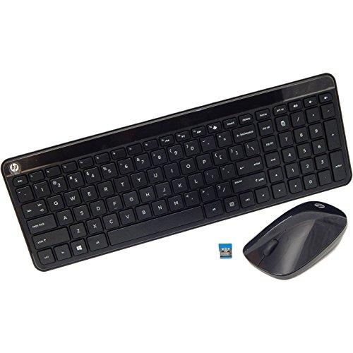 HP Wireless Keyboard & Mouse Yelowstone VS 801523-001 Yellowstone Vesuvius English ()