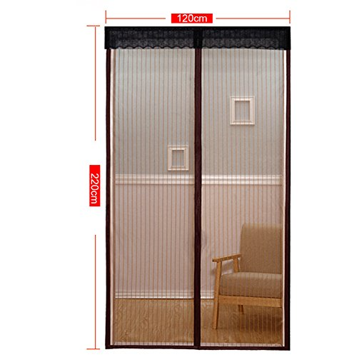 Extsud Magnetic Screen Door Polyester Magnetic Curtain