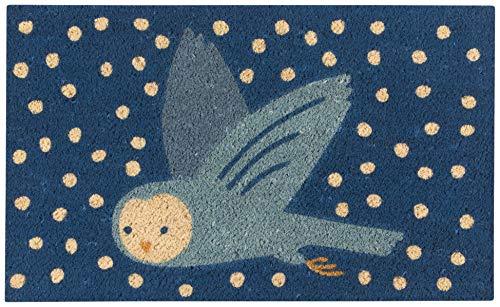 Now Designs Doormat, Snow Much Fun Owl (Best Doormat For Snow)
