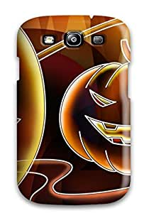 Tpu Case Cover For Galaxy S3 Strong Protect Case - Going To Be A Super Halloween Design