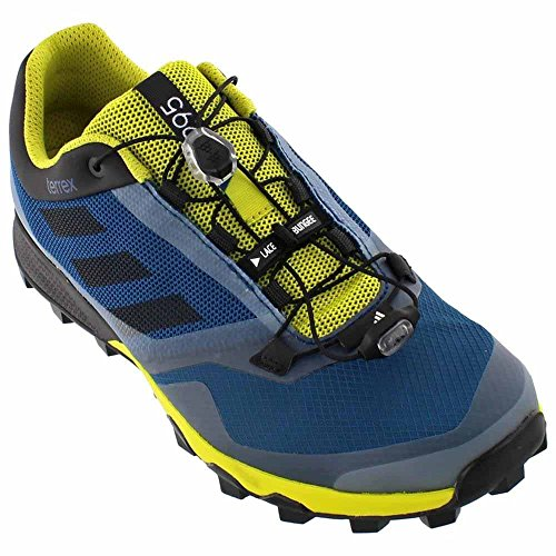 Adidas Terrex Trailmaker Mens Running Shoe 6 Tech Steel-Black-Unity Lime (Adidas Mens Steel Watch)