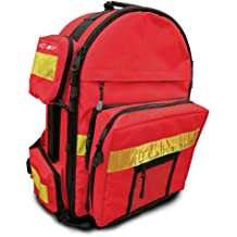 """Primacare KP-4183 Trauma Back Pack, 17"""" Length x 6"""" Width x 19"""" Height"""