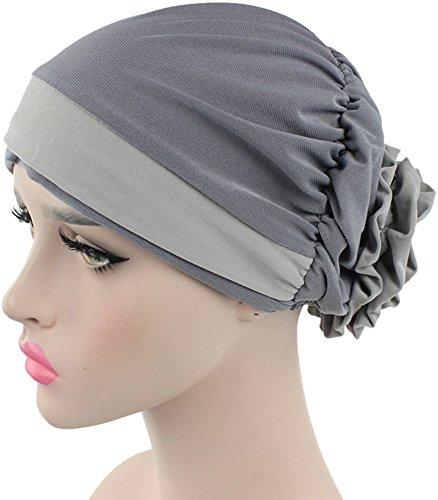 Ababalaya Stretch Flower Muslim headscarf product image