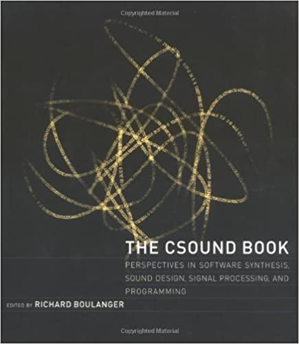 The Csound Book: Perspectives in Software Synthesis, Sound Design, Signal Processing and Programming by Richard Boulanger (2000-04-10)