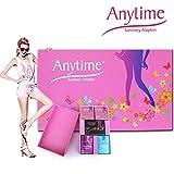8 Gift Boxes Free Shipping Sanitary Napkin Hygiene Women Napkins Anion Cotton Sanitary Napkin Medicated Lady Sanitary Pad