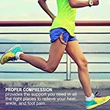 Compression Running Socks (6 Pairs) for Men and