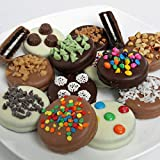 Belgian Ultimate Chocolate Covered Oreo Sandwich Cookies Gift Box - 12pc