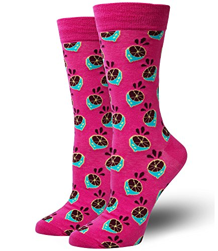 Chalier Novelty Funny Patterned Dress Crew Cool Crazy Socks for Men & Women