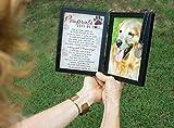 Pawprints Memorial Pet Tag Frame - Pawprints Left
