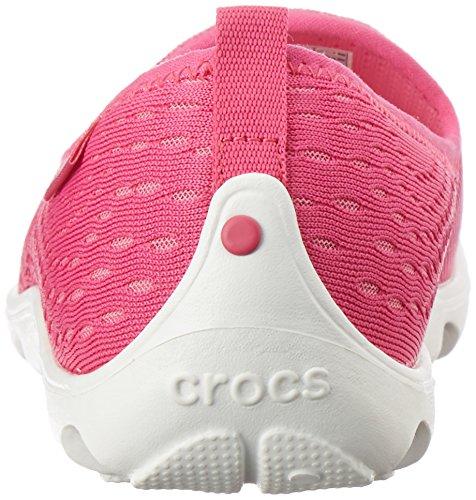 Crocs Femmes Duetbusydayxpressmesh Sabots Skimmer Candy Rose / Rose Limonade