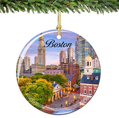 Boston Christmas Ornaments - 5