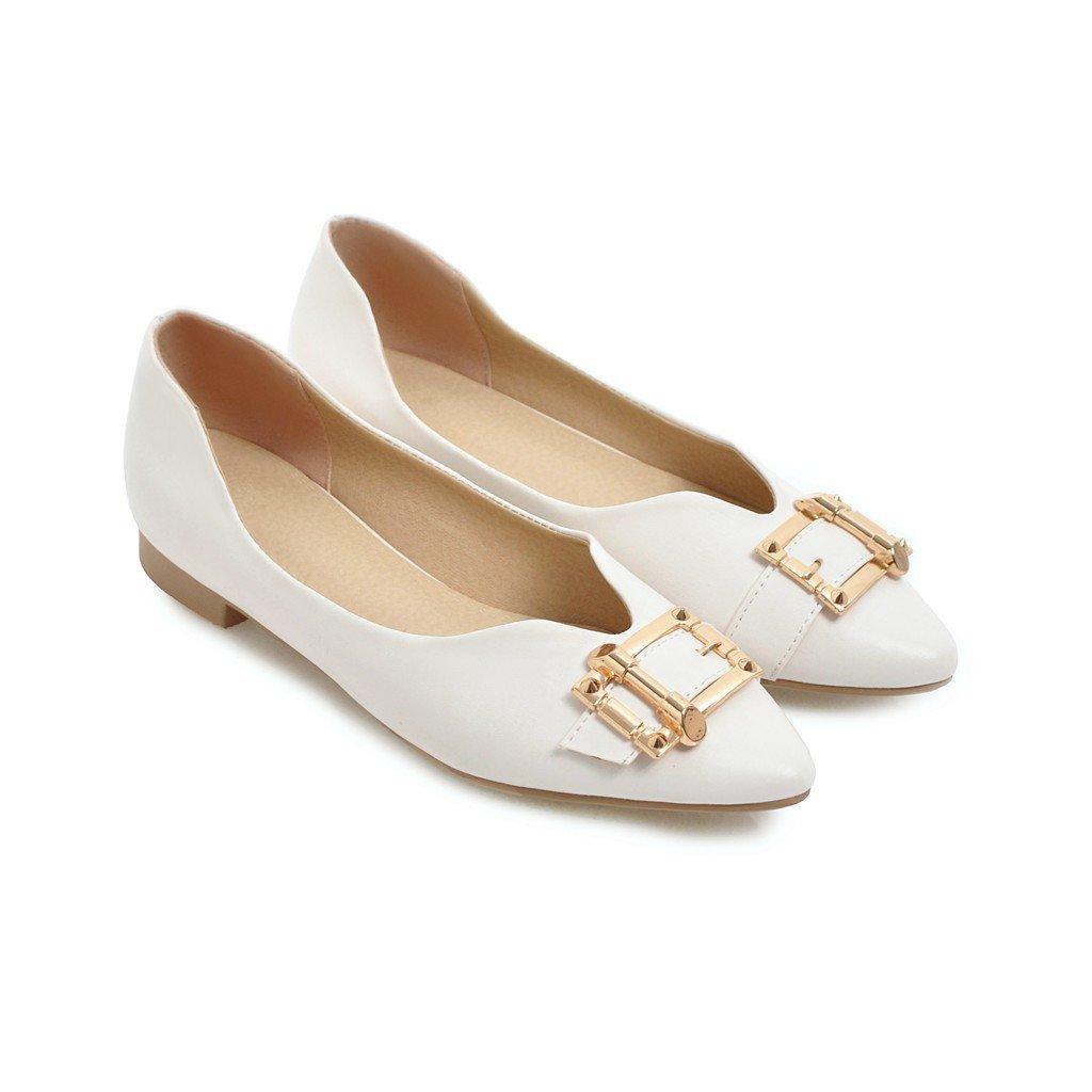 LSM-Heels MEI&S Damen Casual Schuhe Schuhe Schuhe Flache Flache Mund Schuhe 19df40