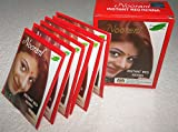 Noorani Instant Red Henna for Hair 6 X 10 Gms (Pack of 10)