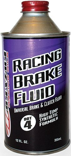 Maxima 80-87912 Synthetic DOT 4 Racing Brake Fluid - 12 oz. Bottle by Maxima