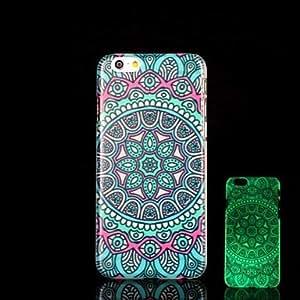 ZMY Funda Trasera - Gráficas/Innovador/Fosforescente - para iPhone 6 Plus Plástico )
